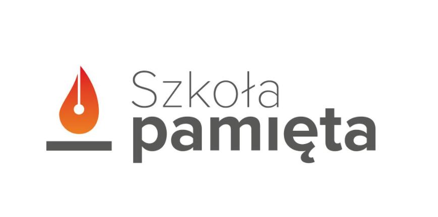 "Logo projektu ""Szkoła pamięta"""